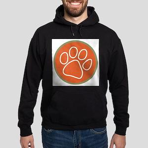 Paw print logo Hoodie (dark)