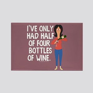 Bob's Burgers Wine Rectangle Magnet