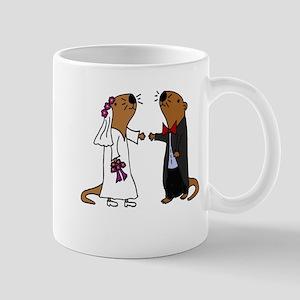 Funny Otter Wedding Mugs