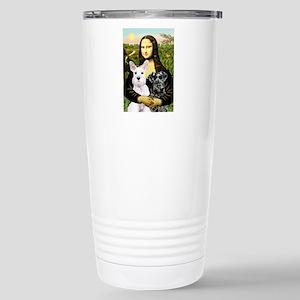 Mona-2 Schnauzers Stainless Steel Travel Mug