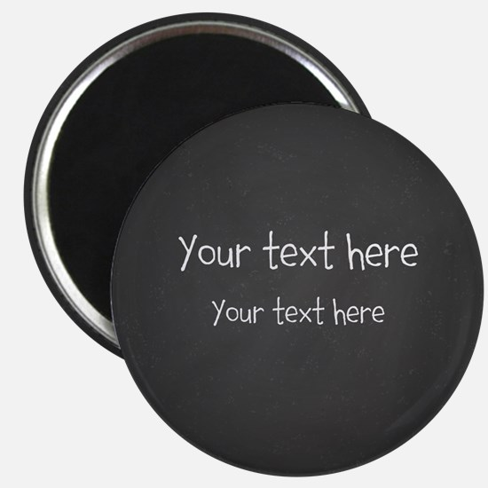 Custom Text Blackboard Magnets