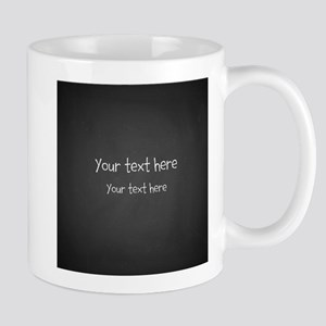 Custom Text Blackboard Mugs