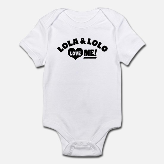 Lola And Lolo Love Me Infant Bodysuit