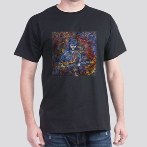 Painting of Les Claypool Dark T-Shirt