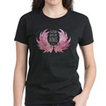 Autism Wings (WC) Women's Dark T-Shirt