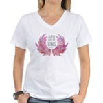 Autism Wings (WC) Women's V-Neck T-Shirt