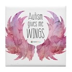 Autism Wings (WC) Tile Coaster