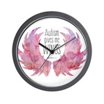 Autism Wings (WC) Wall Clock