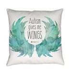 Autism Wings (WC) Everyday Pillow