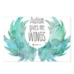 Autism Wings (WC) Postcards (Package of 8)