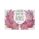 Autism Wings (WC) Rectangle Magnet (100 pack)