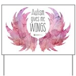 Autism Wings (WC) Yard Sign