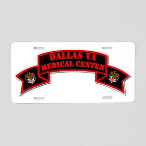 Medical Center - Dallas Aluminum License Plate