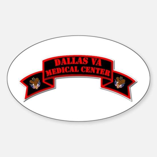 Medical Center - Dallas Sticker (oval)