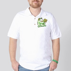 Flower Frog Golf Shirt