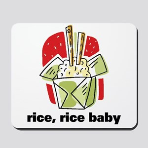 Rice Rice Baby Mousepad