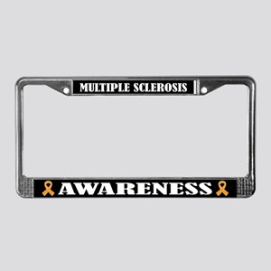 Multiple Sclerosis Awareness License Plate Frame