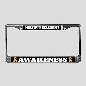 Multiple Sclerosis Awareness License Plate Frame