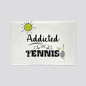 Addicted To Tennis Magnets