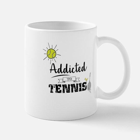 Addicted To Tennis Mugs