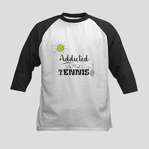 Addicted To Tennis Baseball Jersey