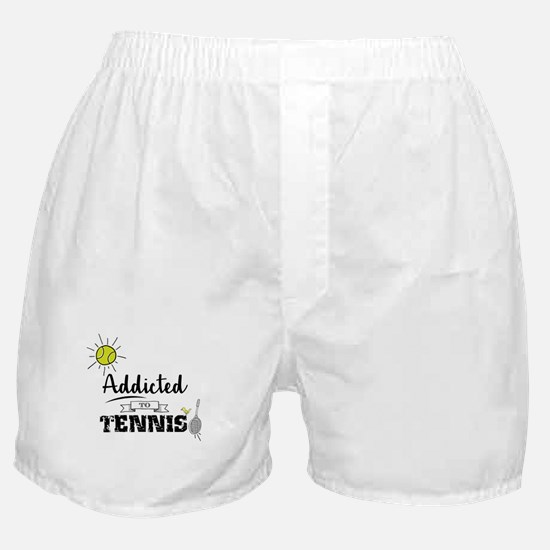 Addicted To Tennis Boxer Shorts