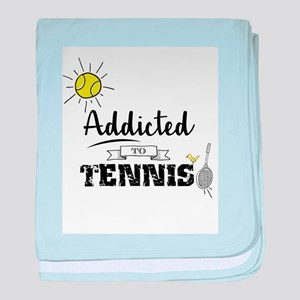 Addicted To Tennis baby blanket