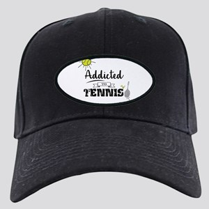 Addicted To Tennis Black Cap
