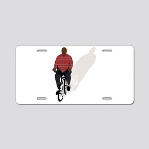 gangsta bike Aluminum License Plate