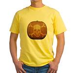 Pirate Halloween Yellow T-Shirt