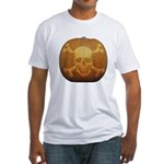 Pirate Halloween Fitted T-Shirt