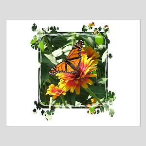 Monarch Butterfly shamrock frame Posters