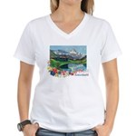 Swiss Beauty Women's V-Neck T-Shirt