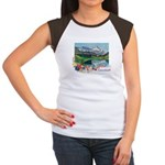 Swiss Beauty Women's Cap Sleeve T-Shirt