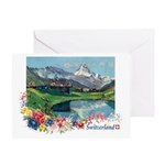 Swiss Beauty Greeting Card