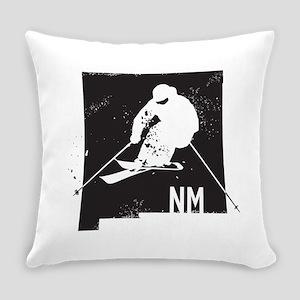Ski New Mexico Everyday Pillow