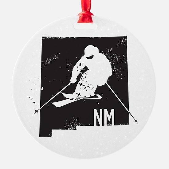 Ski New Mexico Ornament