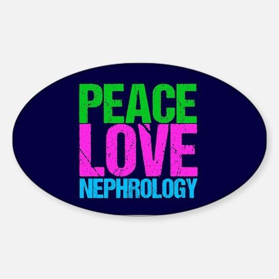 Nephrology Sticker (Oval)