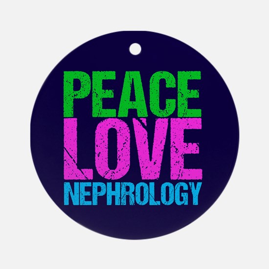 Nephrology Round Ornament