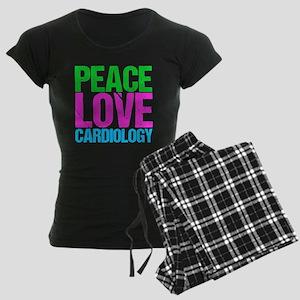 Cardiology Women's Dark Pajamas