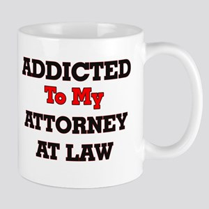Addicted to my Attorney At Law Mugs