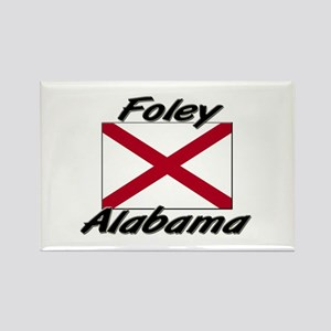 Foley Alabama Rectangle Magnet