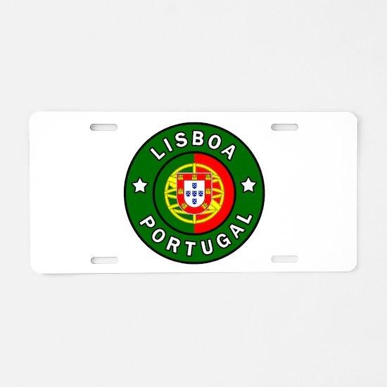 Lisboa Portugal Aluminum License Plate