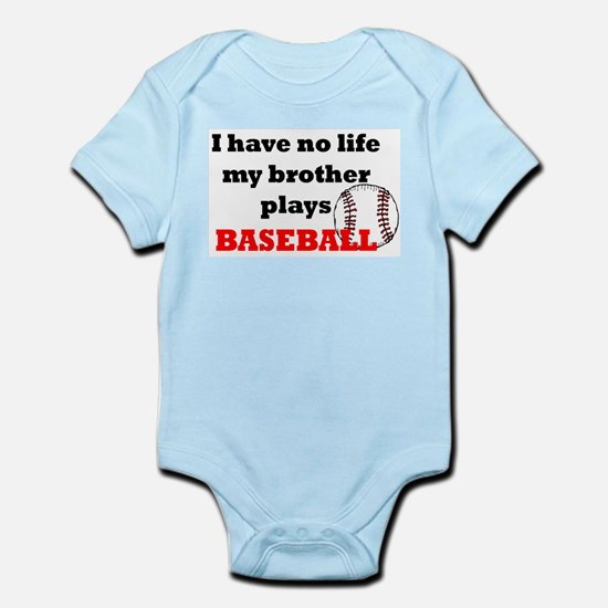 No Life...Brother Plays Base Body Suit