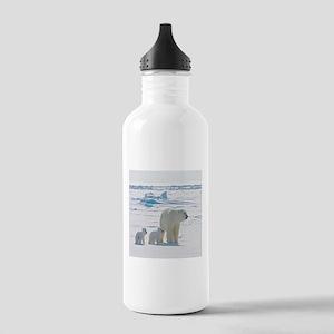 Polar Bears Water Bottle