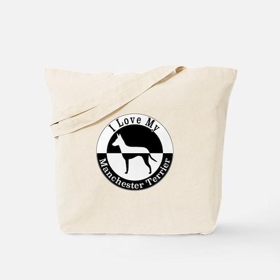 Unique Manchester terrier Tote Bag