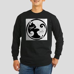yin-yang-cat Long Sleeve T-Shirt