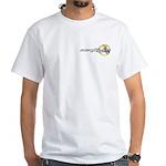 Sacredlife Flowerball White T-Shirt