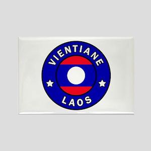 Vientiane Laos Magnets