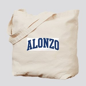 ALONZO design (blue) Tote Bag